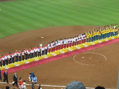 Softball Medal Cermony