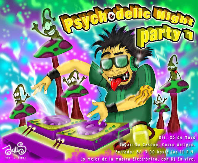 PSYCHODELIC NIGTH PARTY 1