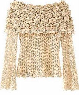 publicado por lu na etiquetas blusas a crochet