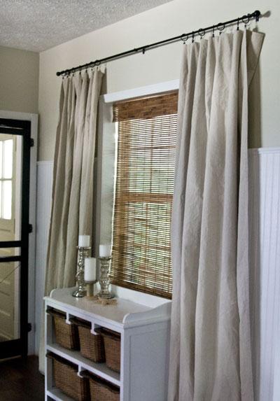 Drop cloth drapes examiner
