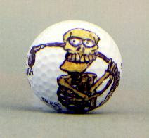 The Golf Ball Art of Steve Ellis