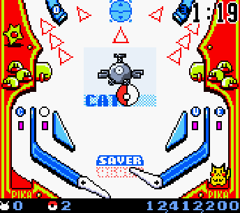Pokémon Pinball | GBC Pokemon+Pinball+Screenshot