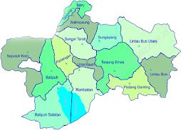 Peta Tanah Datar