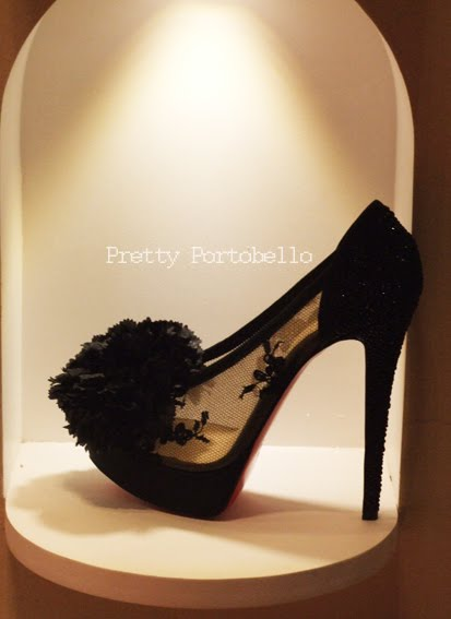 christian louboutin black shoes