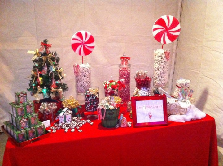 Sweet Sensations Candy Stations: Christmas Candy Buffet