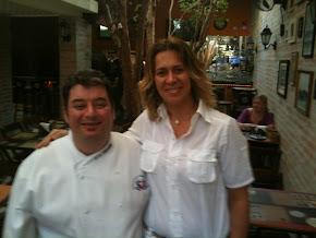 Chef Paulinho Pecora e Chef Bia Macinelli