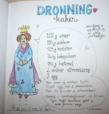 Dronningkaker - klikk for større bilde