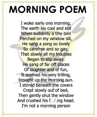 Morning poem