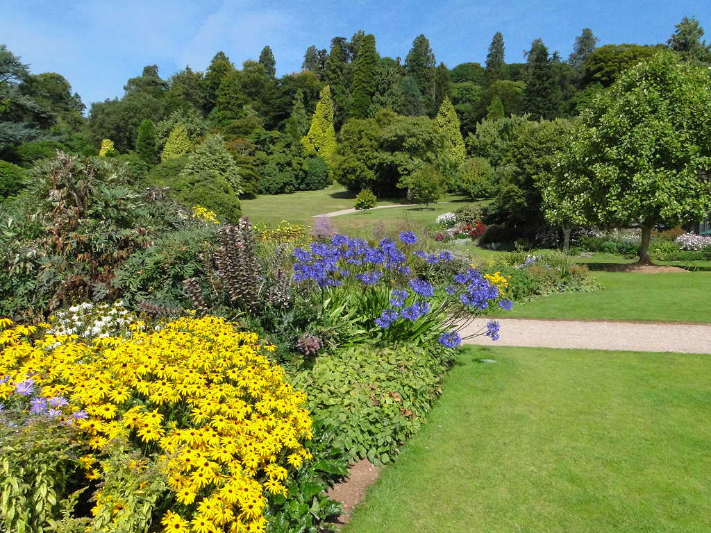 CJE in Exeter: Killerton House  Garden Terrace