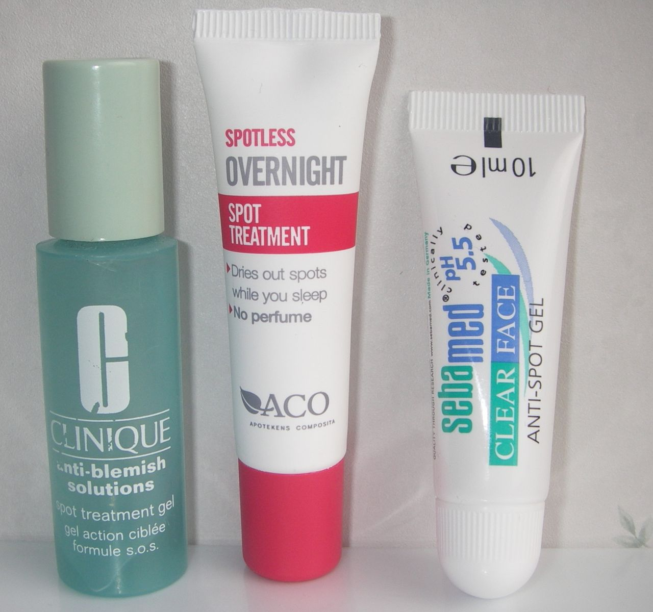 spot treatment finnar