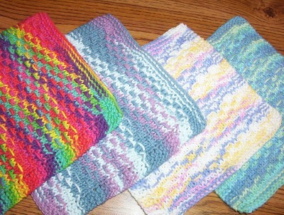 Pins and Needles: Knitting, Crocheting and Weaving