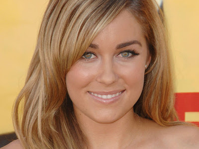 lauren conrad hairstyles curly. In her short hairstyle, Lauren