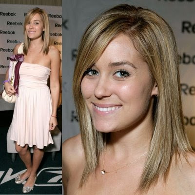 lauren conrad's celebrity medium short hairstyles