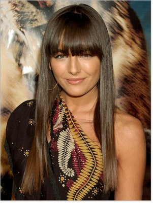 hairstyle fringes. Fringe hairstyles 2009