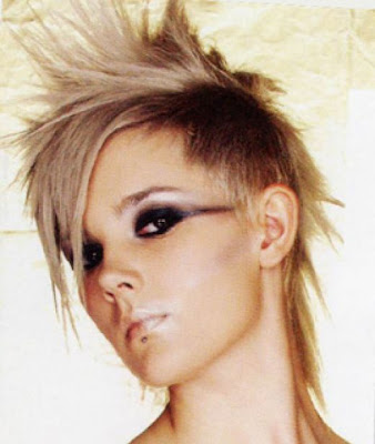 Spiky punk Short hairstyle
