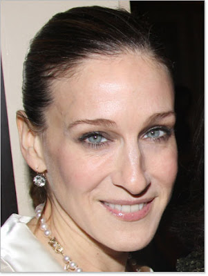 SARAH JESSICA PARKER OLDER: Yanked-back hair is severe on anyone who isn't a
