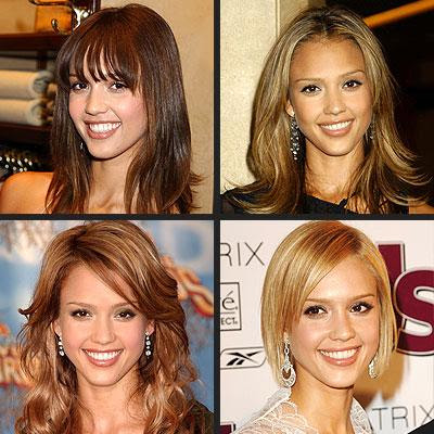 jessica alba hair color. Jessica Alba Latest Hairstyle
