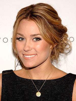 Lauren Conrad updos prom hairstyles. That's look gorgeous!