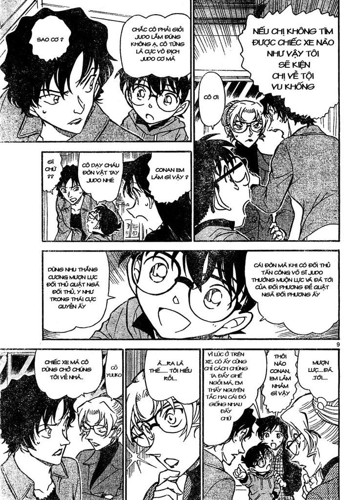 Detective Conan - Thám Tử Lừng Danh Conan chap 645 page 9 - IZTruyenTranh.com