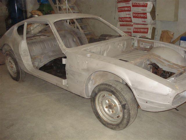 Iniciando a restauração do Volkswagen SP2