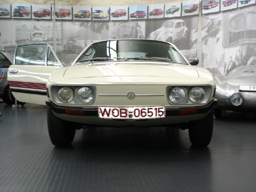 Volkswagen SP2 do acervo do Museu Wofsburg