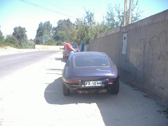Um Volkswagen SP2 no Chile