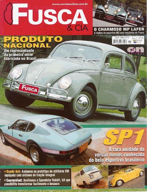 Reportagem Fusca e Cia - Volkswagen SP1