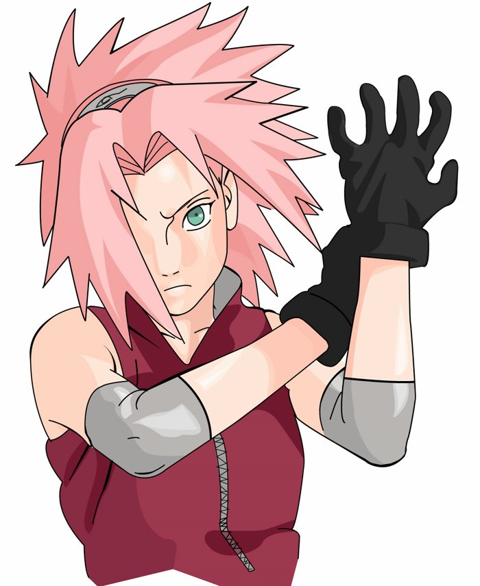 Sakura Haruno 春野 サクラ Haruno Sakura? is a fictional