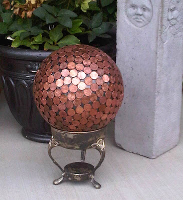 Penny Ball Yard Art