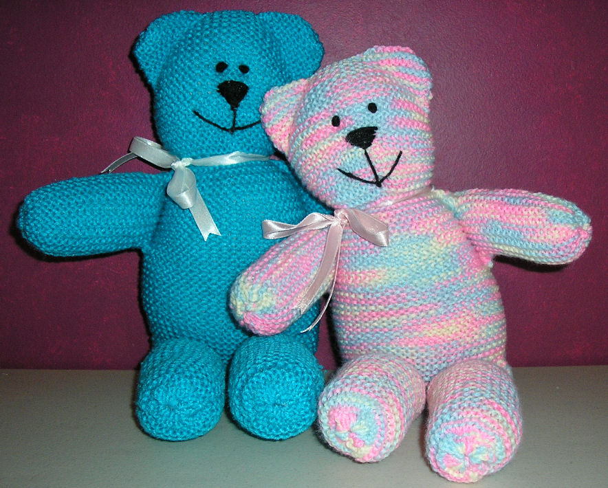 Justjen Knitsstitches Teddy Bears For Brisbane Country Flood