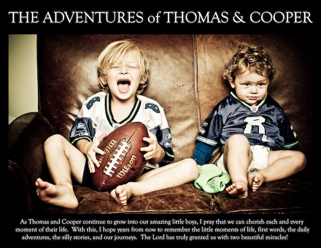 The Adventures of Thomas and Cooper.