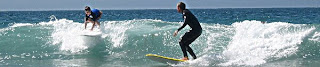 Learn to surf at surf camp