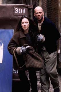 Bruce Willis e Madeleine Stowe