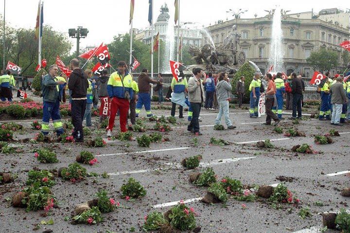Medio ambiente ok vandalismo de los jardineros for Sindicato jardineros