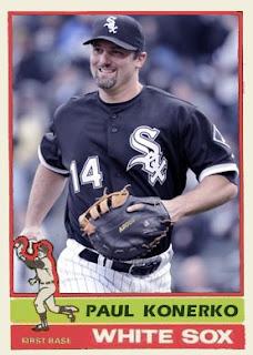 Paul Konerko Reds White Sox Cards: WSC B...