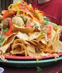 nachos Food 4 Super Bowl Sunday!