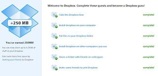 Dropbox mas capacidad +250MB