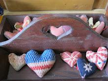 Antique Heart Handle Tote