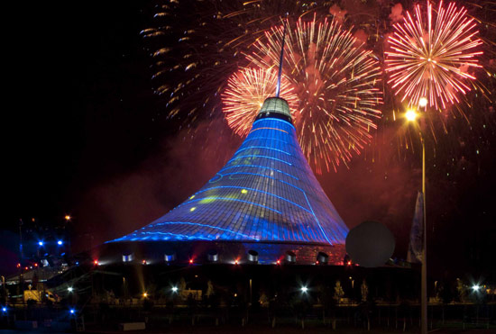 Tallest Tent in Kazakhstan Wallpapers