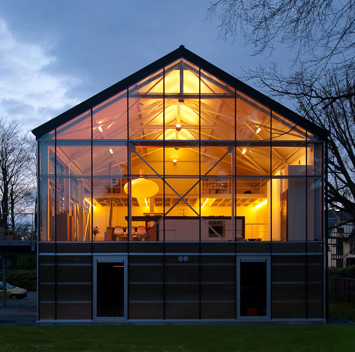 Archi choong eco greenhouse design asse belgium for Sustainable house designs