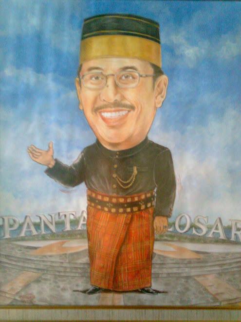 - Karikatur Ilham Arief Sirajuddin ( Walikota Makassar )..