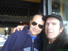 Con Fernando Martín, músico y periodista