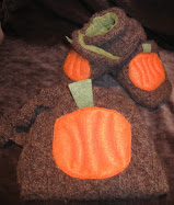 Pumpkin Harvest Shoe Set