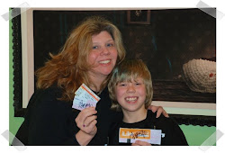 Jen and Teddy (with our SIGNED My Chemical Romance tickets!!!)
