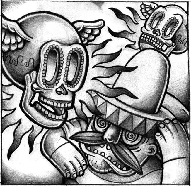Ed hardy Colouring Pages