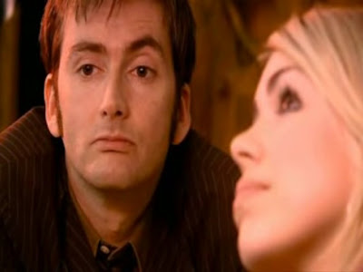 The Doctor realises he's stuck with Rose