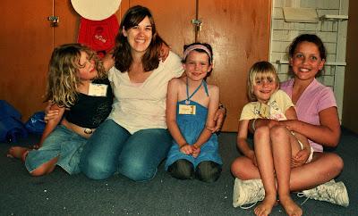 Kristen at Kids' Encounter
