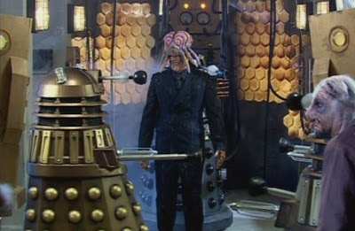 Dalek: I SHOULD HAVE TA-KEN THAT OF-FER TO GO TO PRI-ME-VAL