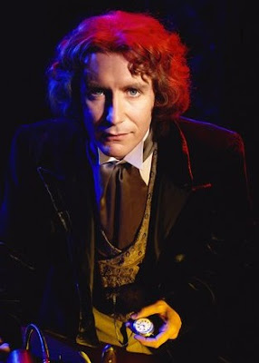 The eighth Doctor, displaying the optimistic mood that so defined his era