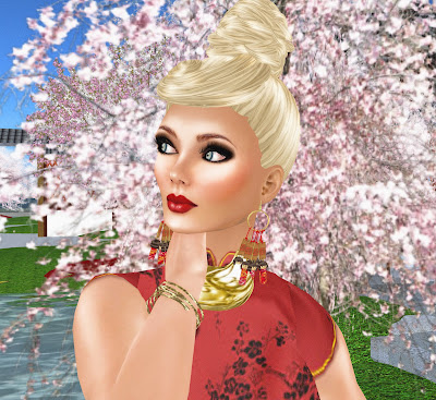 Digital Image @ Cherry Blossom In Bloom